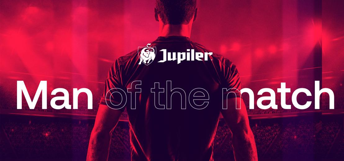 Jupiler & la Pro League lancent « Jupiler Man of the match »