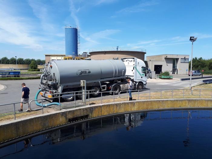 Al 32 zuiveringsinstallaties open voor ophalen gezuiverd afvalwater