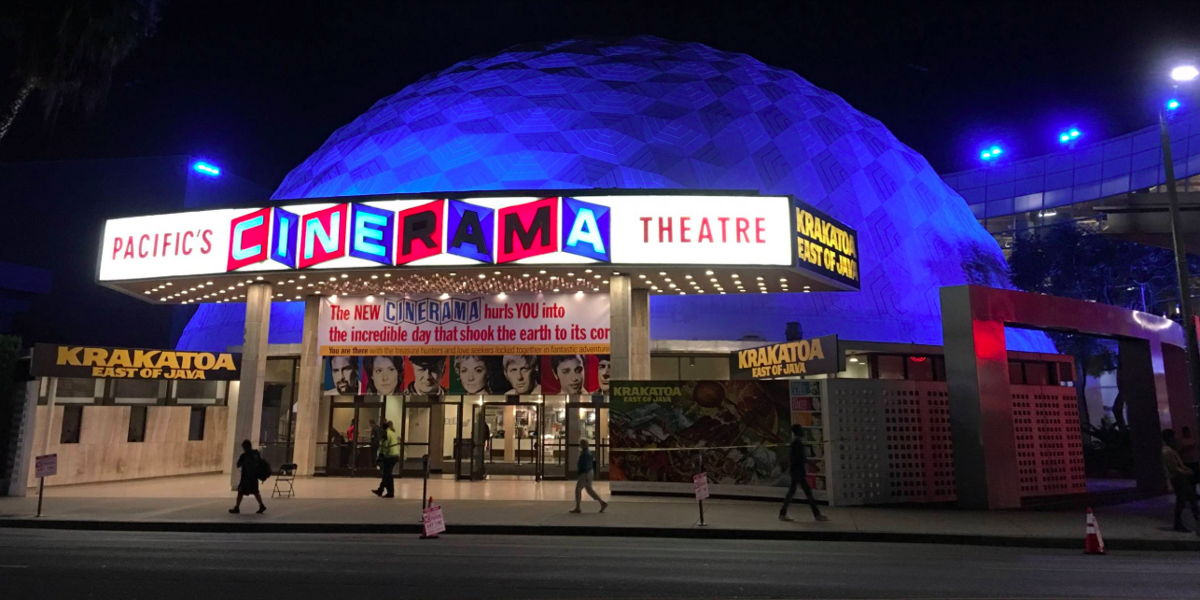The Cinerama Dome | Photo: @thejslewis, Twitter