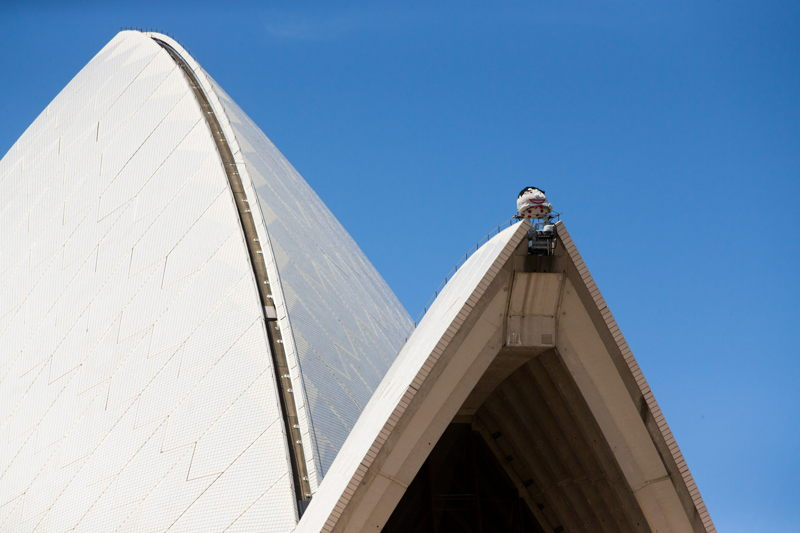 Humpty Dumpty on the Opera House