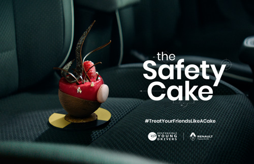 Safety Cake: the cake that can save lives