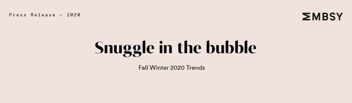 Snuggle in the bubble