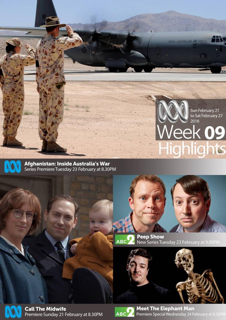 ABC TV Highlights - Week 9