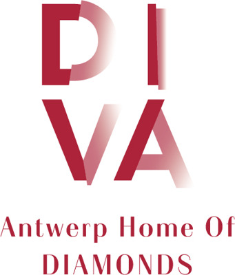 DIVA, Antwerp Home of Diamonds perskamer Logo