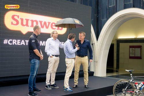 A new major team partnership confirms Sunweb's commitment to the future of cycling