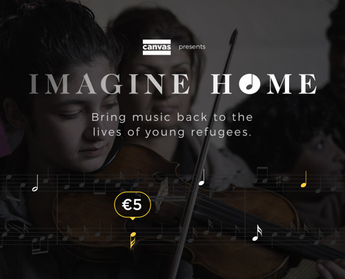 Imagine Home : The Music Donation Project
