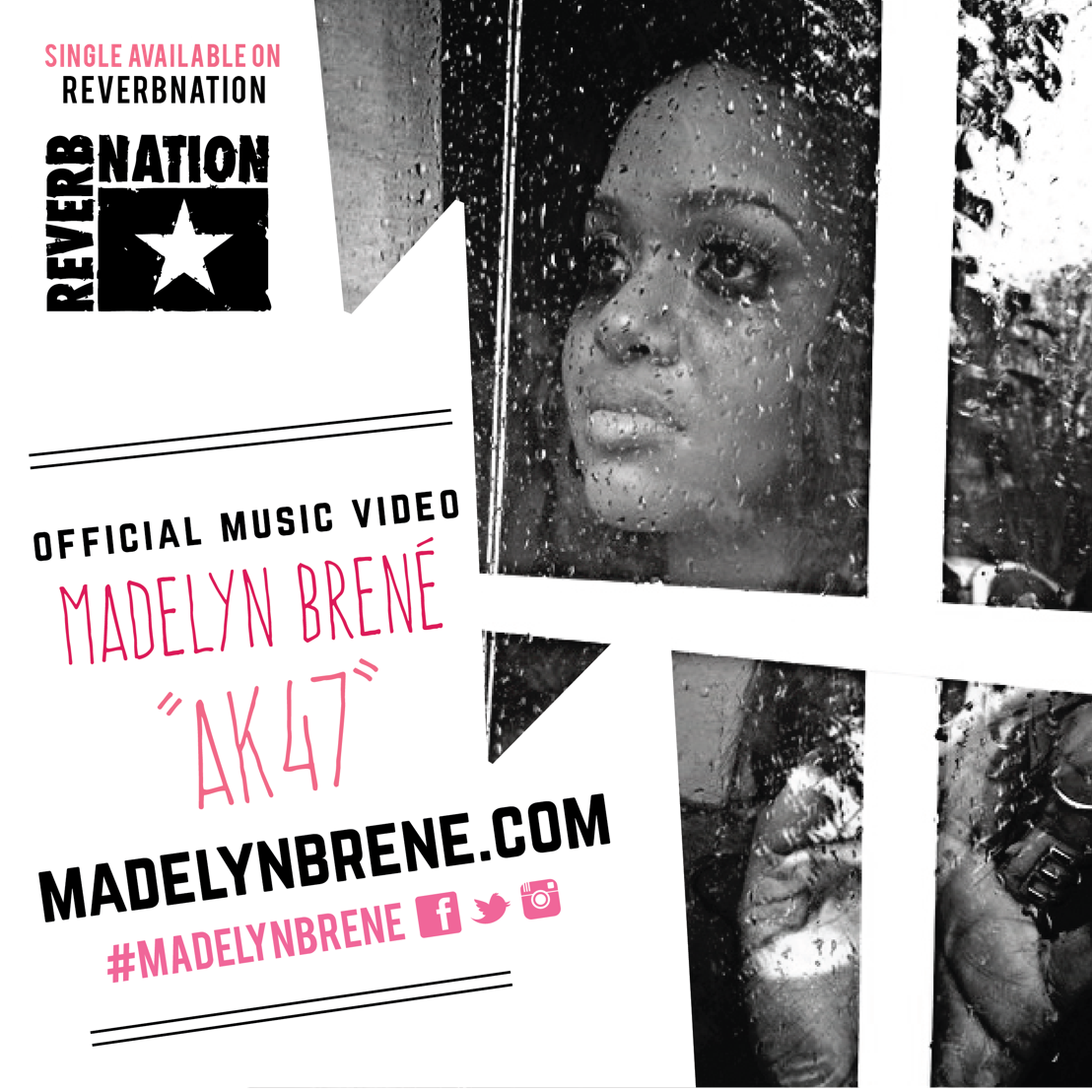 Madelyn Brené's first official music video to AK 47