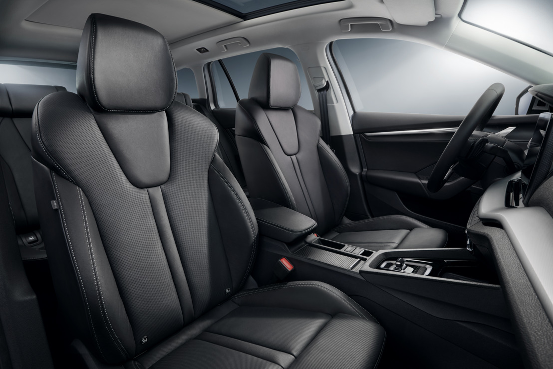 Healthy back guaranteed: Ergo comfort seats in the new ŠKODA OCTAVIA have the AGR seal of approval
