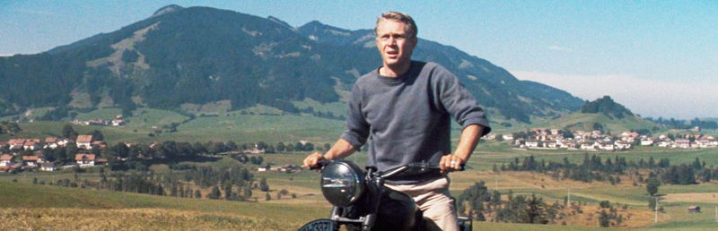 Steve McQueen in The Great Escape 2