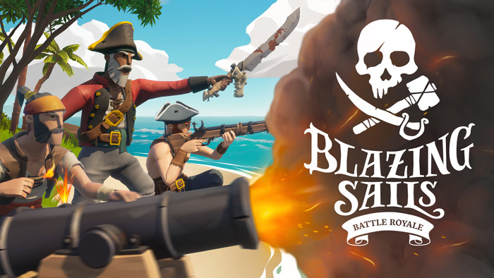 Preview: OUT TODAY on PC! Pirate Battle Royale Blazing Sails! 🏴☠️🌊