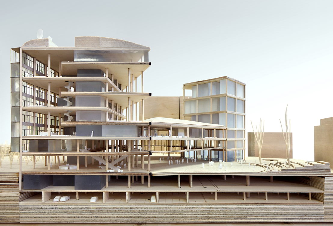 Maquette winnend project - ® Filip Dujardin - Team Vlaams Bouwmeester