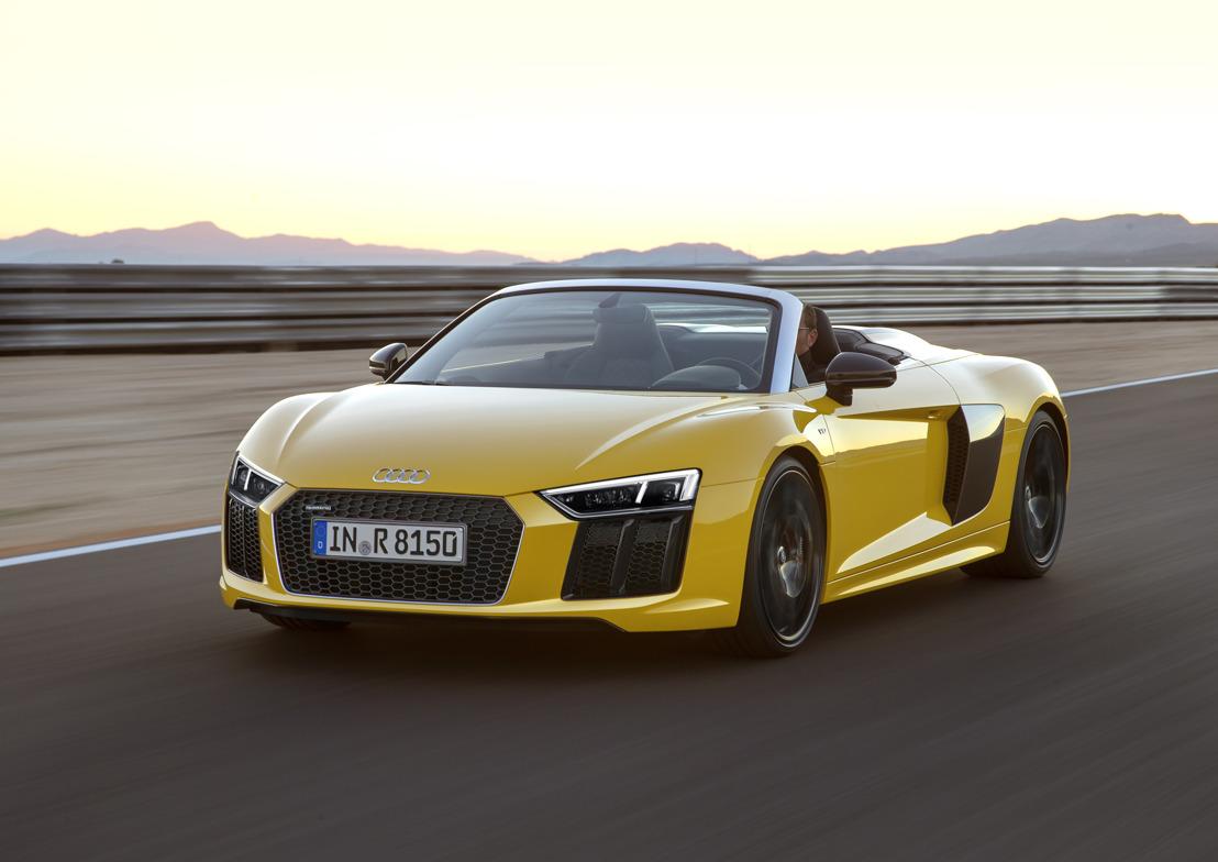 La nouvelle Audi R8 Spyder V10 en première mondiale au New York International Auto Show