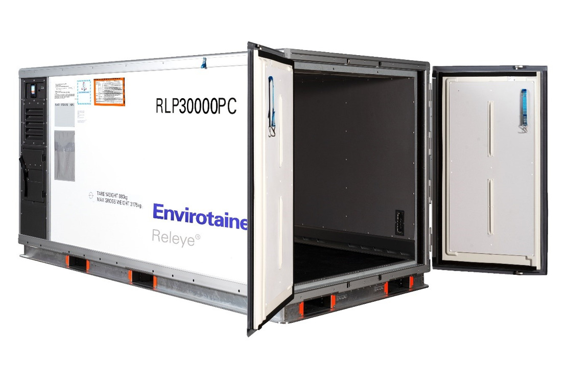Cathay Pacific Cargo is first Asian carrier to offer Envirotainer Releye RLP container