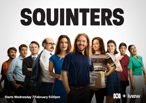 Open your eyes this February to the new comedy series Squinters