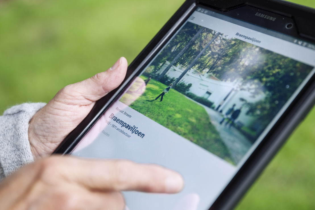 De Middelheim App - Foto: Ans Brys