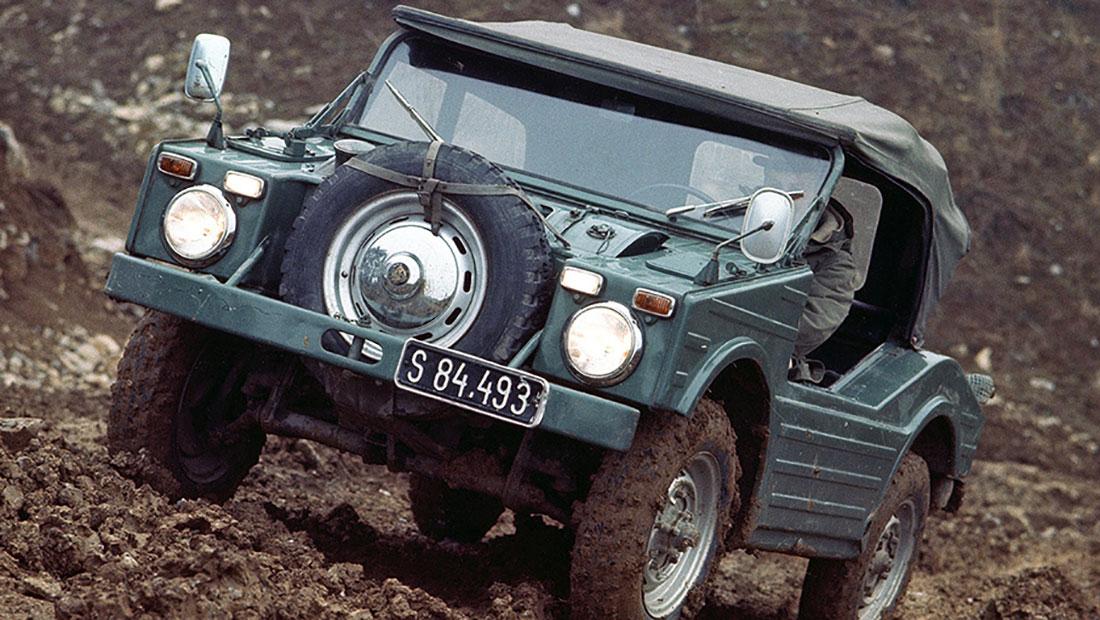 Un todoterreno muy extraño: el Porsche 597 'Jagdwagen' - Fue producido en la década de 1950 para el ejército alemán