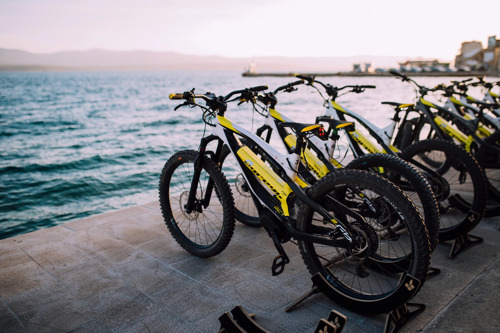 Putting The Greyp G6 Electric Mountain Bike Through Its Paces On The Adriatic Coastline