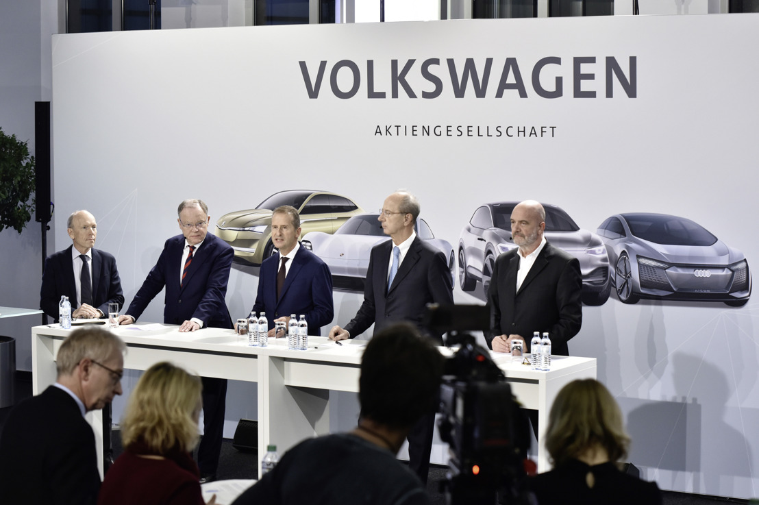 Volkswagen investit dans le futur