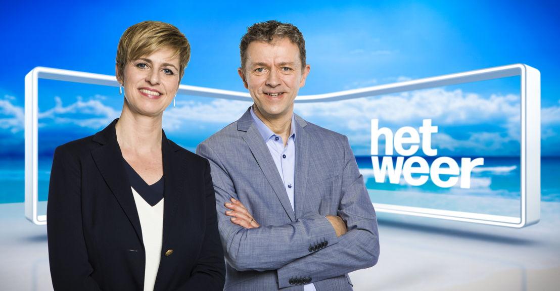 Sabine Hagedoren en Frank Deboosere (c) VRT