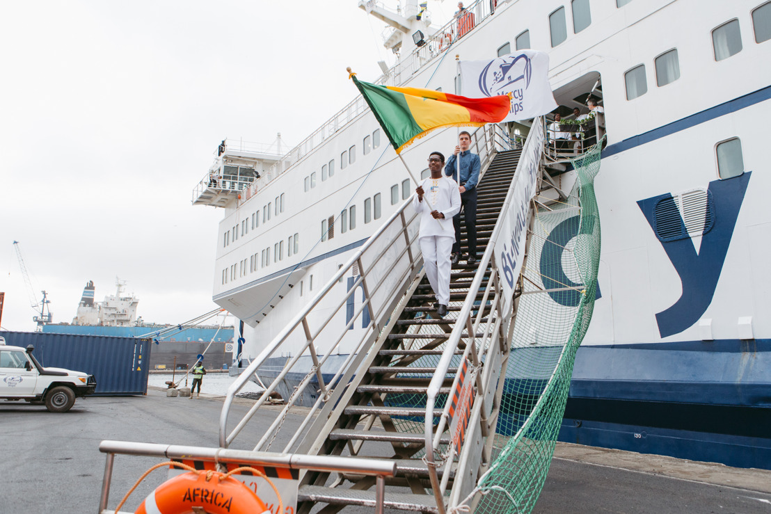 Mercy Ships Canada celebrates arrival in Dakar, Senegal