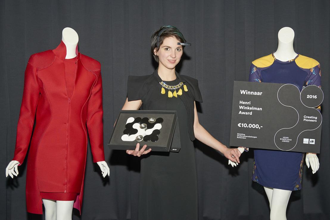 Belgische designer wint Henri Winkelman Award in Nederland