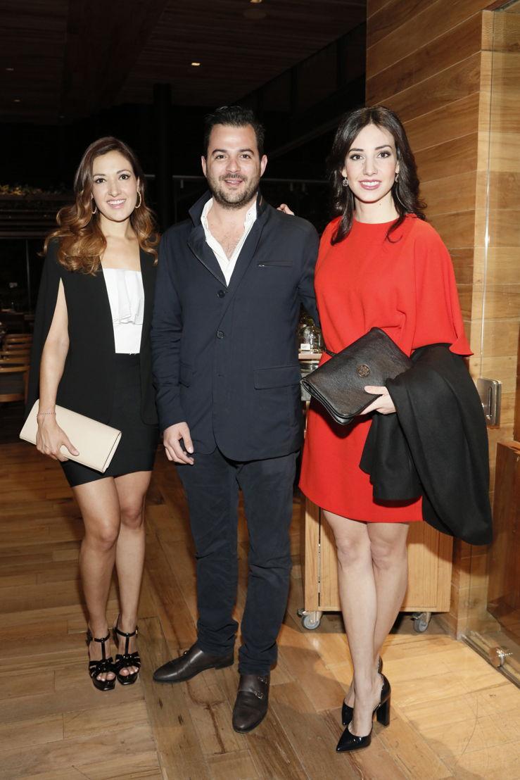 Gabriela Villarreal, Juan Morera, Andrea Martinez