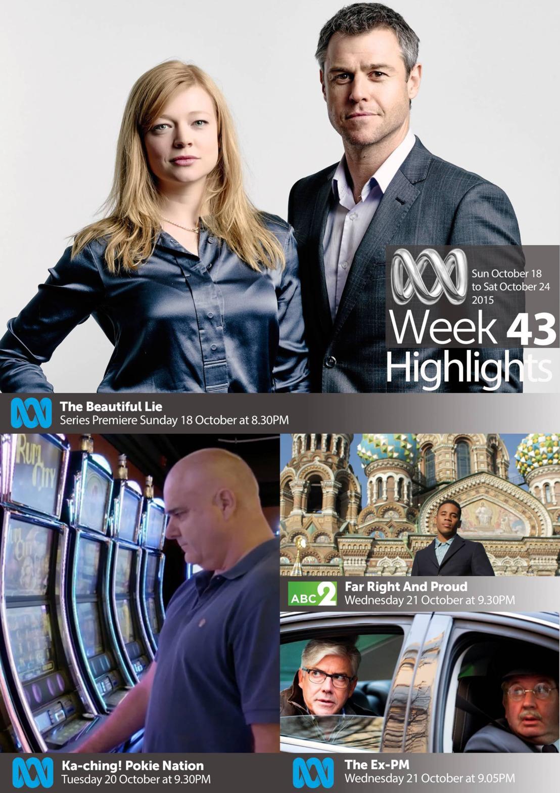 ABC TV Highlights - Week 43
