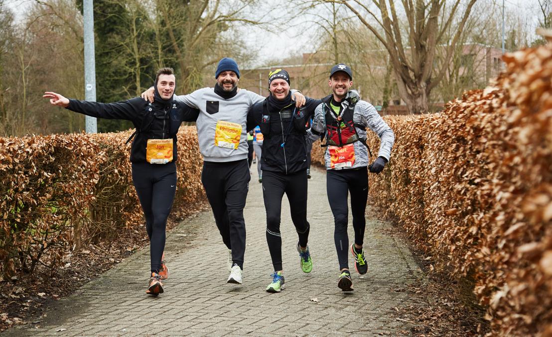 Persuitnodiging 100km-run voor Kom op tegen Kanker