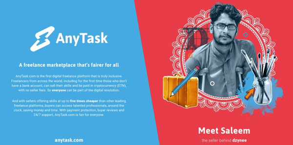 Preview: AnyTask, the first global freelance platform to add a translation system enabling billions speaking 109 languages to interact instantly