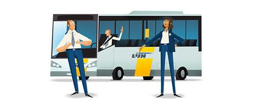 Starters in het 1ste middelbaar reizen in september gratis met bus en tram