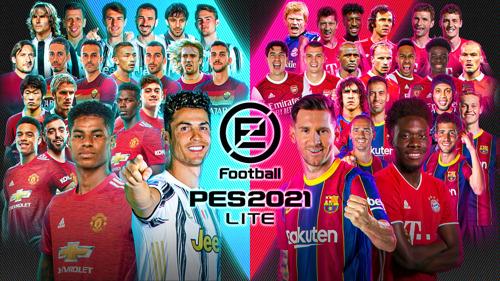 eFootball PES 2021 LITE ENTHÜLLT, KOSTENLOSER DOWNLOAD AB HEUTE VERFÜGBAR