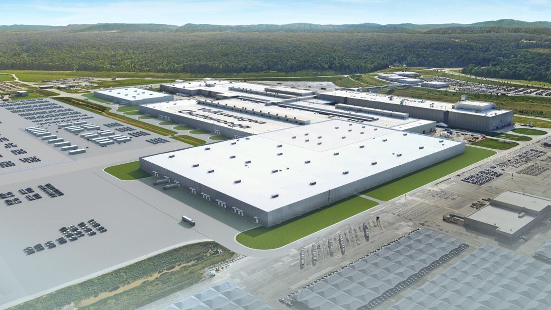 Volkswagen start met de uitbreiding van de fabriek in de VS voor de productie van elektrische auto's