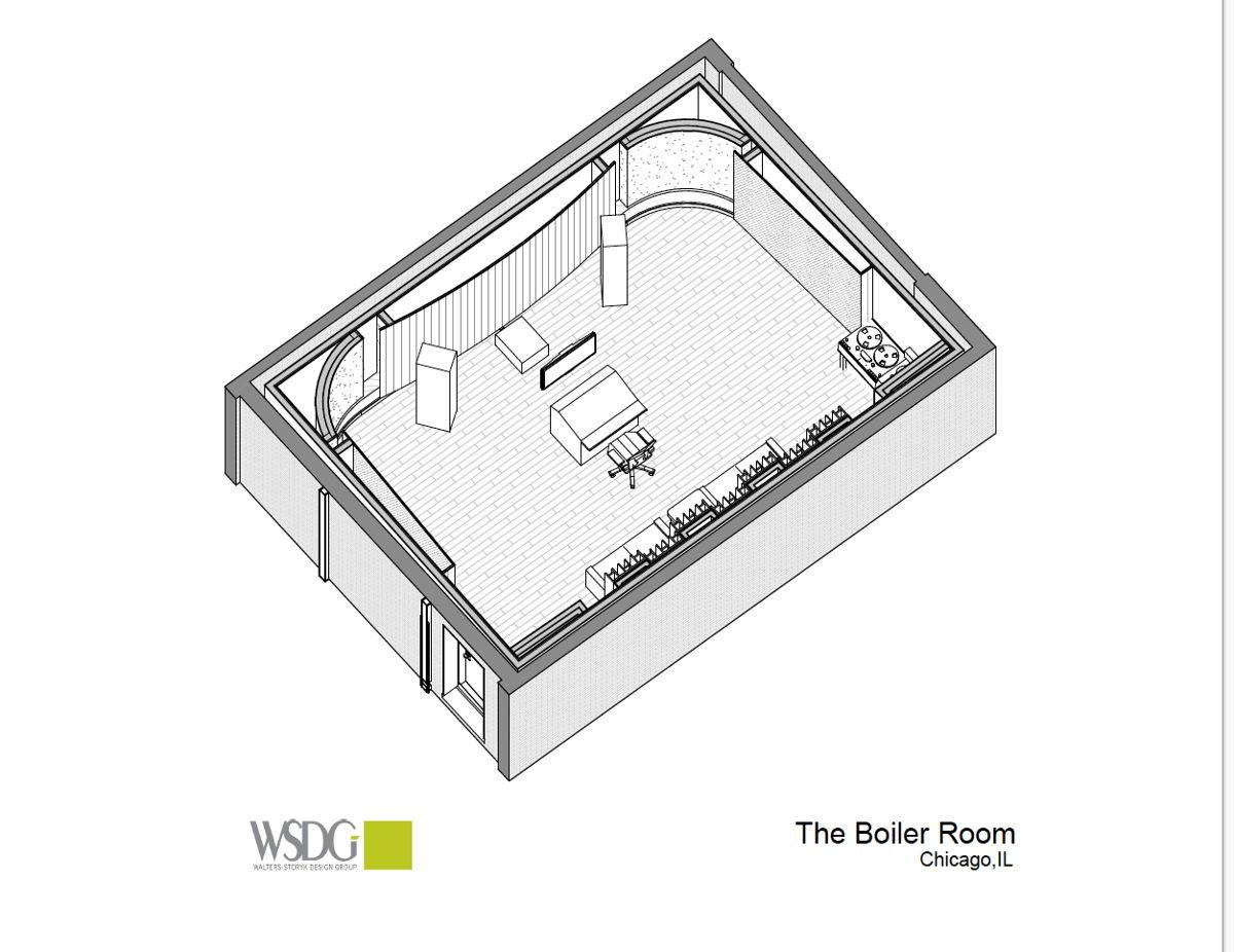 The Boiler Room Axon Plan