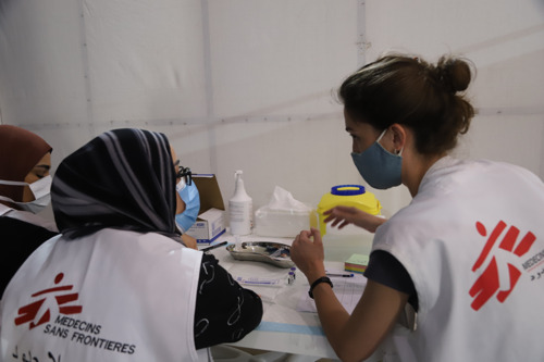 DIARISE THE DATES: MSF hosts new webinar series on COVID-19 medical tools and local production in Africa