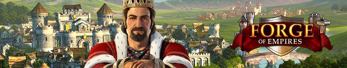 Lang lebe der König! Forge of Empires feiert 5. Geburtstag