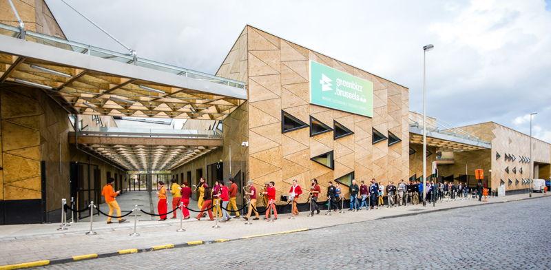Opening Greenbizz, Brussel