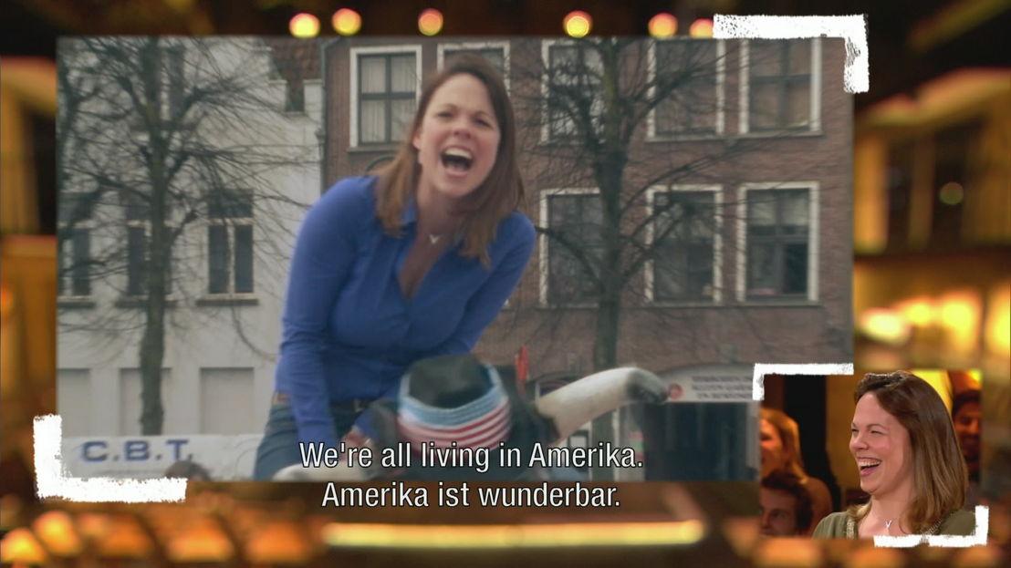 4. &quot;Amerika ist wunderbar!&quot;<br/>Sorry voor alles (c) VRT