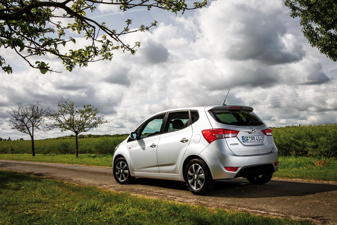 Information aux médias - New Hyundai ix20: le petit monospace gagne encore en attractivité
