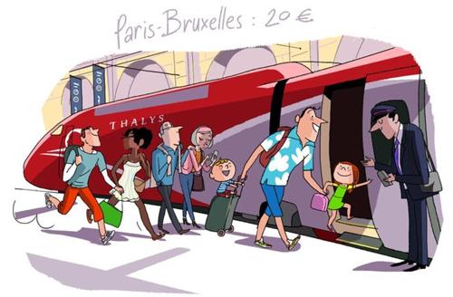 Cette année, pour sa traditionnelle promo été, Thalys joue collectif : la France dès 20€, l'Allemagne dès 15€, les Pays-Bas dès 20€ !
