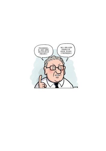 Na een serie en een film, nu ook een eigen stripreeks voor De Buurtpolitie