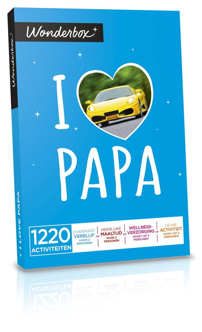 """Wonderbox """"I love papa"""""""