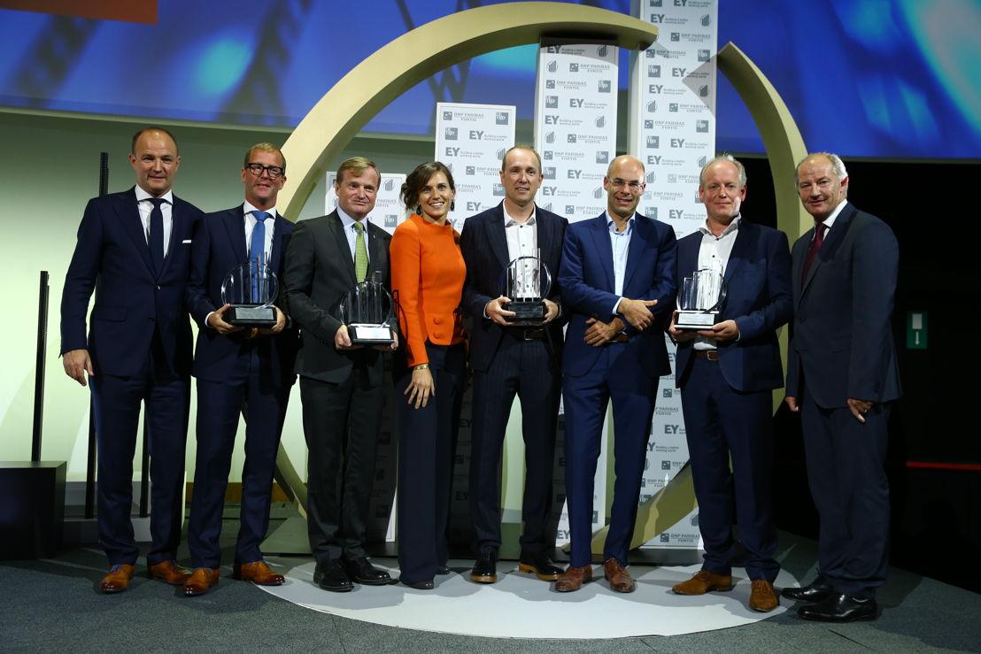 The finalists of the award 'Onderneming van het Jaar®' 2016  © Frederic Blaise