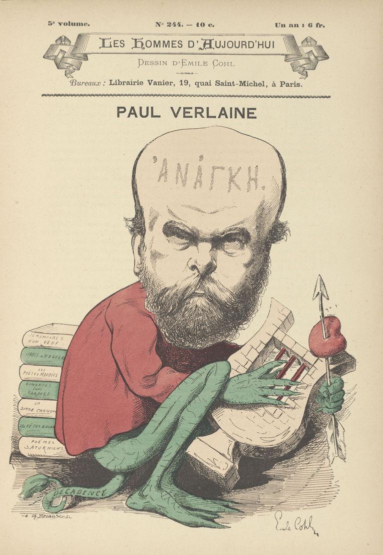 Dossier Rimbaud Verlaine<br/>Een bewogen avontuur tussen twee dichters. Een verhaal van wederzijdse bewondering, een literaire klik en van liefde, maar ook van conflicten en een onbevredigde passie. Hun relatie drijft hen tot de grenzen van hun poëtische productie maar kent een tragische afloop in Brussel. Verlaine vuurt twee kogels af op Rimbaud, die gewond raakt aan de pols. De zaak komt voor het gerecht. Een van de mooiste ontmoetingen in de Franse poëzie eindigt zo in de processen-verbaal van de politie.