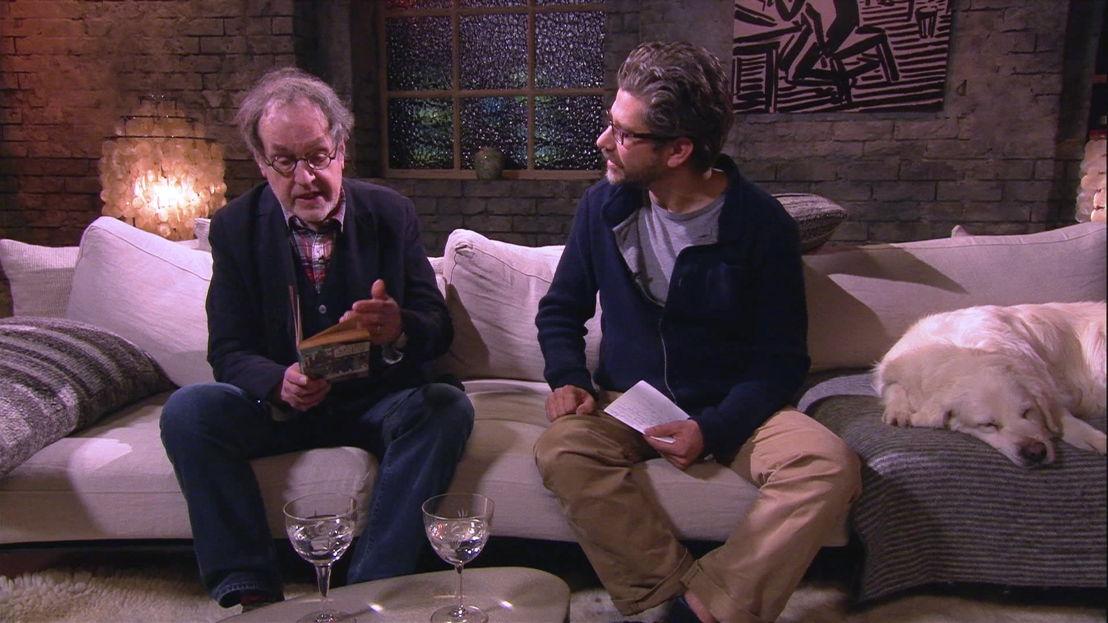 Pjeroo Robjee en Wim Helsen