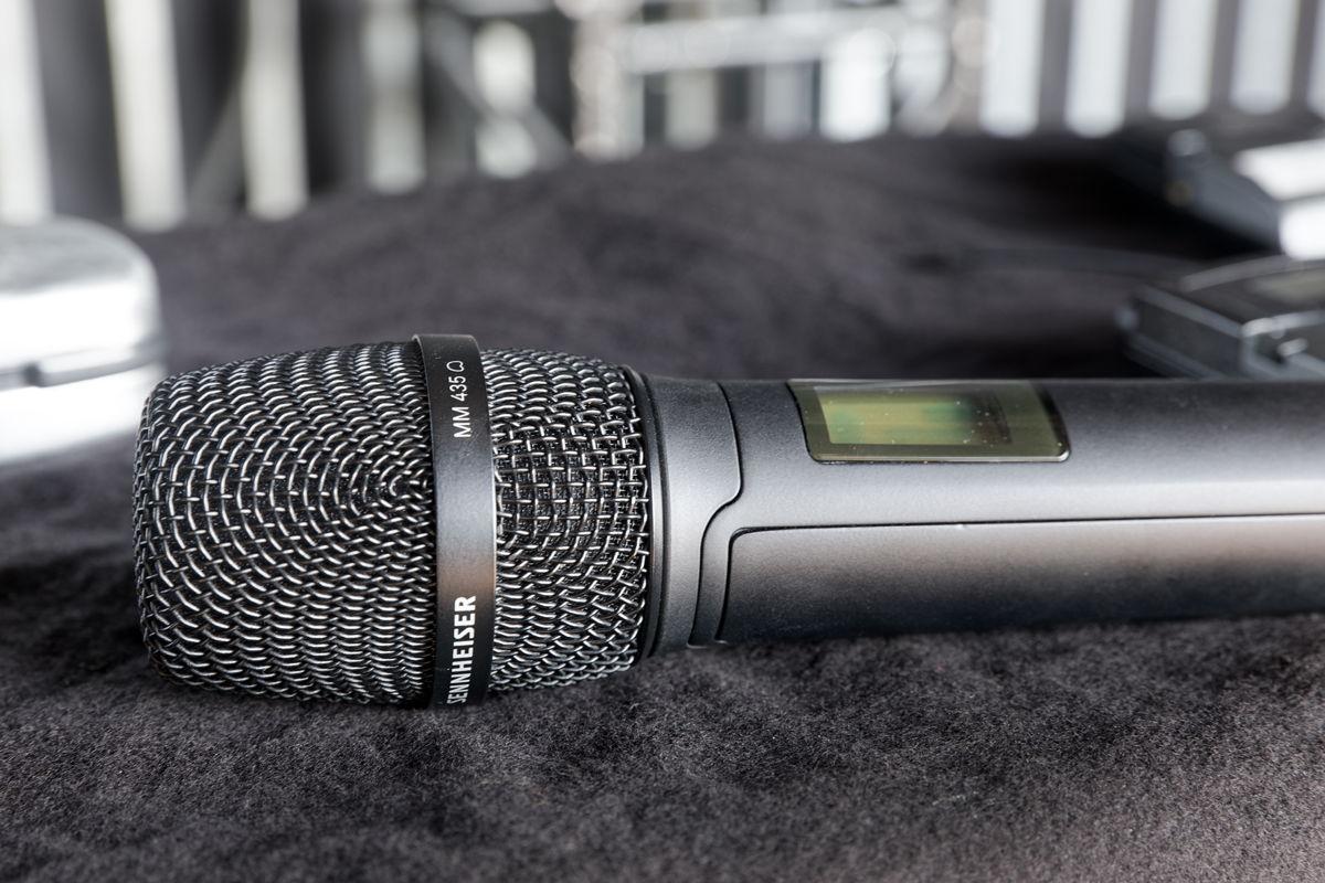 Sennheiser MM 435 microphone head with a dynamic high-end capsule (cardioid)