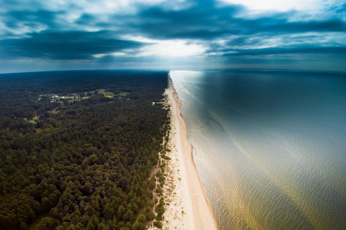 "Latvia: Cape Kolka ""where two seas meet"""