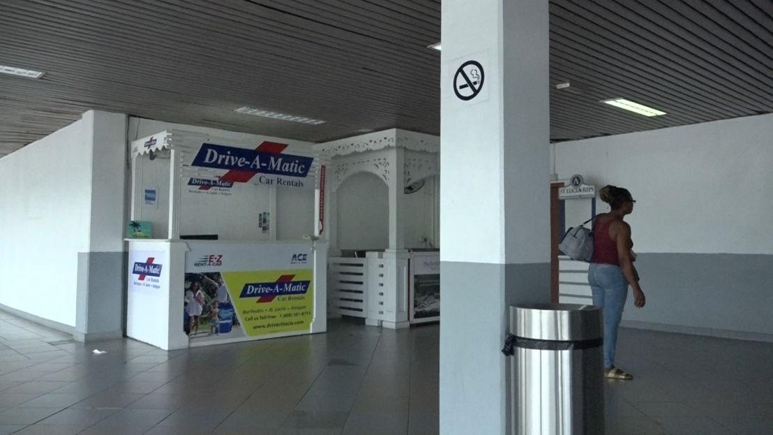 Visit of Hewanorra International Airport