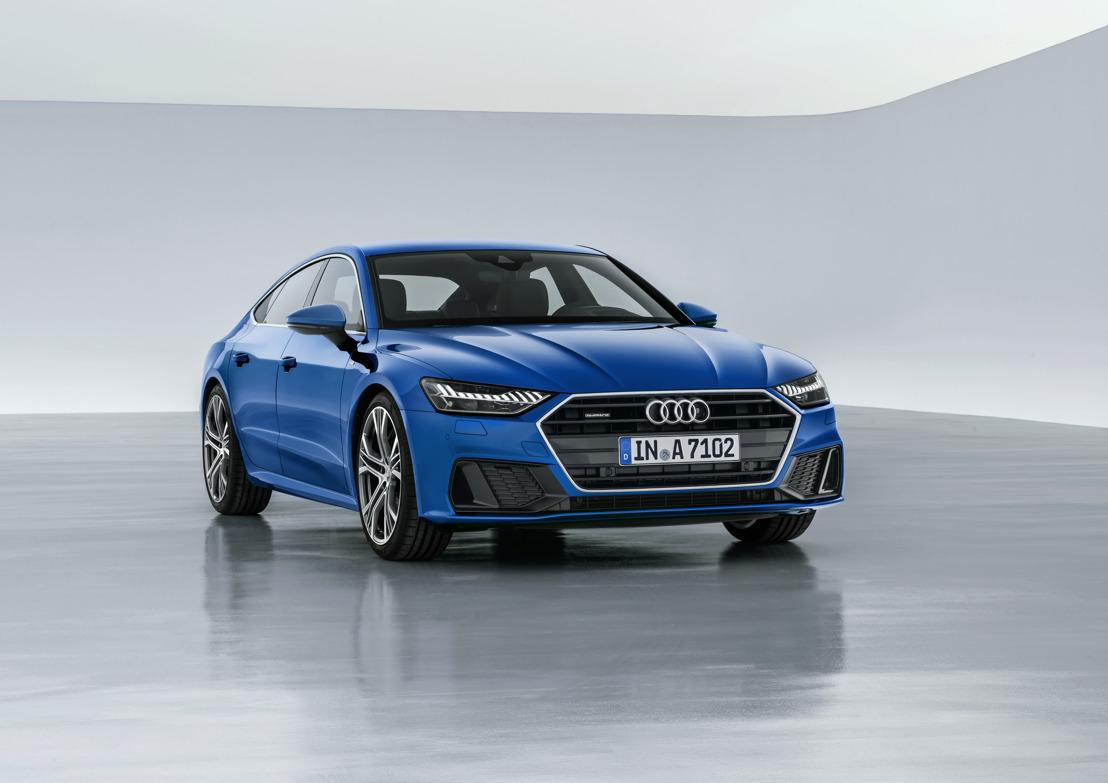 De nieuwe Audi A7 Sportback: Audi's sportieve gezicht in de topklasse