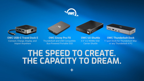 OWC Unveils Innovative Storage And Connectivity Solutions