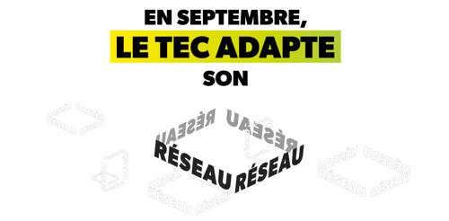 Ce 1er septembre, le TEC adapte son réseau !